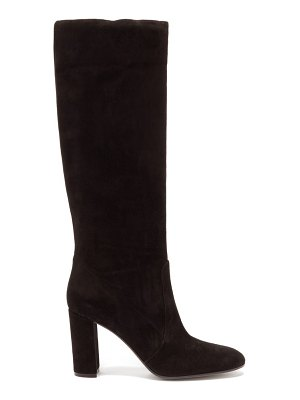 Gianvito Rossi slouch 85 knee high suede boots