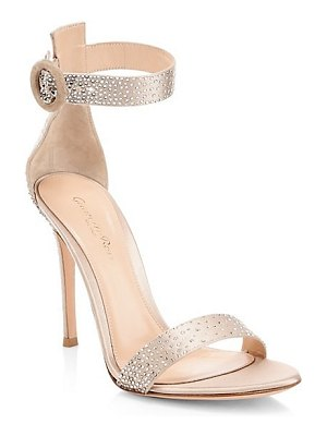 Gianvito Rossi strass crystal embellished sandals