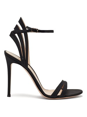 Gianvito Rossi suede stiletto sandals