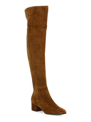 Gianvito Rossi Texa Over-The-Knee Suede Boots