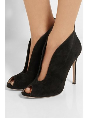 Gianvito Rossi vamp 105 suede ankle boots