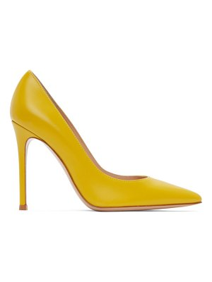Gianvito Rossi yellow gianvito 105 heels