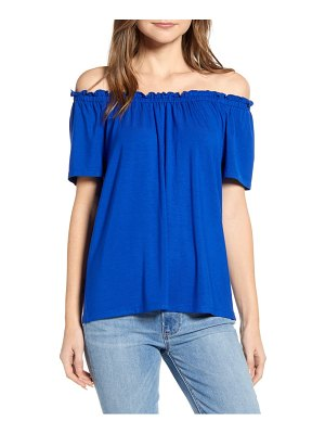 Gibson x international  day the mom in style off the shoulder knit top