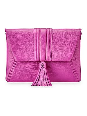 GiGi New York ava leather clutch