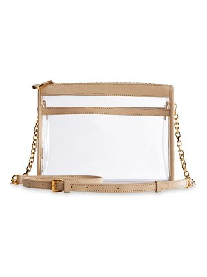 GiGi New York game day collins tuohy smith x gigi leigh anne leather-trimmed pvc crossbody bag