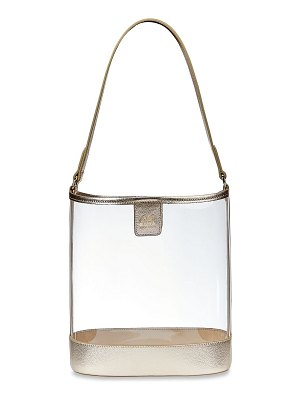 GiGi New York game day collins tuohy smith x gigi virginia metallic leather-trimmed pvc hobo bag