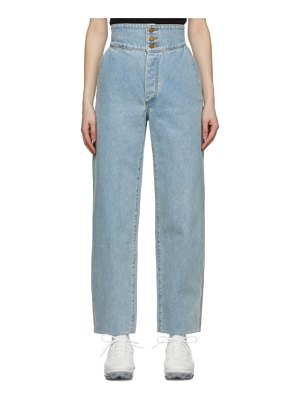 Gil Rodriguez blue washed marseille jeans