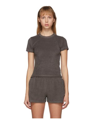 Gil Rodriguez ssense exclusive brown terry corsica t-shirt