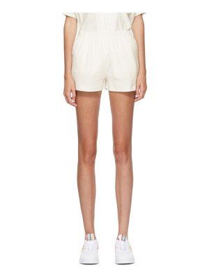 Gil Rodriguez ssense exclusive white terry port shorts