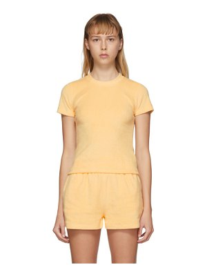 Gil Rodriguez ssense exclusive yellow terry corsica t-shirt
