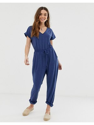Gilli relaxed fit jumpsuit-blue