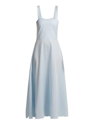 GIOIA BINI lucinda cotton maxi dress