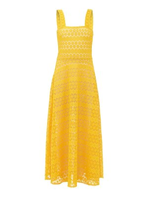 GIOIA BINI lucinda macramé lace maxi dress