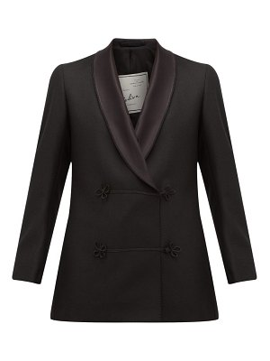 GIULIVA HERITAGE COLLECTION claudia double breasted wool jacket