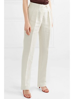 Giuliva Heritage husband linen tapered pants