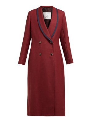 GIULIVA HERITAGE COLLECTION josephine double-breasted wool coat