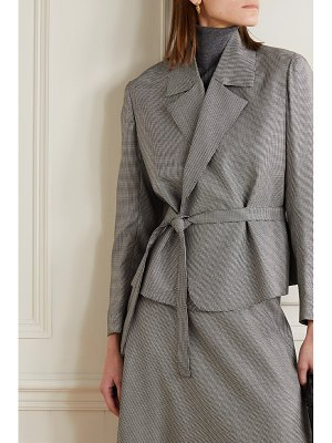 Giuliva Heritage lucy houndstooth wool blazer