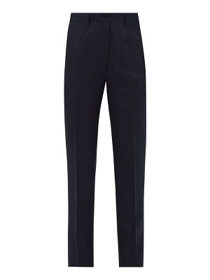 GIULIVA HERITAGE COLLECTION the altea high-rise linen-blend trousers
