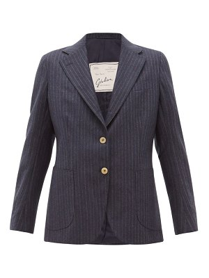 GIULIVA HERITAGE COLLECTION the andrea shadow striped wool blazer