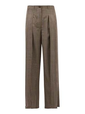 GIULIVA HERITAGE COLLECTION the bernado prince of wales checked wool trousers