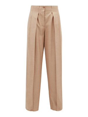 GIULIVA HERITAGE COLLECTION the bernado silk blend twill trousers