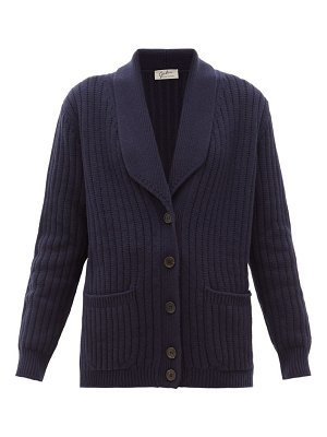 GIULIVA HERITAGE COLLECTION the clio ribbed wool blend cardigan