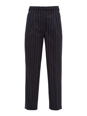 GIULIVA HERITAGE COLLECTION the cornelia pinstriped wool trousers