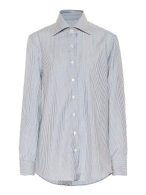GIULIVA HERITAGE COLLECTION the elvira striped wool shirt