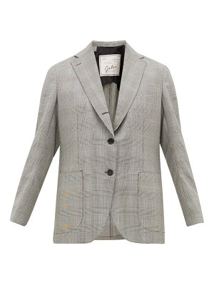 GIULIVA HERITAGE COLLECTION the esther prince of wales-check wool jacket