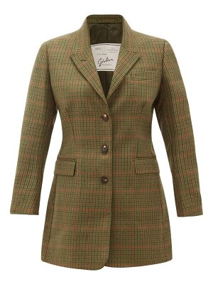 GIULIVA HERITAGE COLLECTION the karen prince of wales check wool blazer