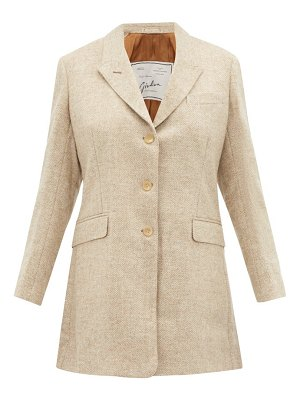 GIULIVA HERITAGE COLLECTION the karen single breasted wool blazer
