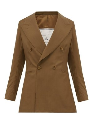 GIULIVA HERITAGE COLLECTION the stella double breasted wool jacket