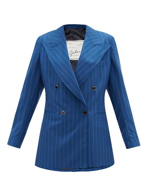 GIULIVA HERITAGE COLLECTION the stella pinstriped-wool suit jacket