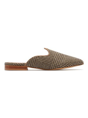 GIULIVA HERITAGE COLLECTION x le monde beryl venetian checked mules