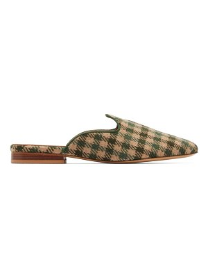 GIULIVA HERITAGE COLLECTION x le monde beryl venetian houndstooth wool mules