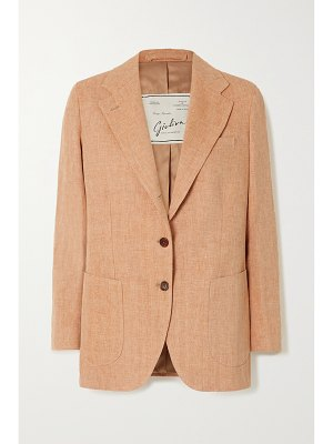 Giuliva Heritage the andrea houndstooth wool blazer