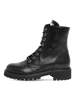 Giuseppe Zanotti 30mm leather ankle boots