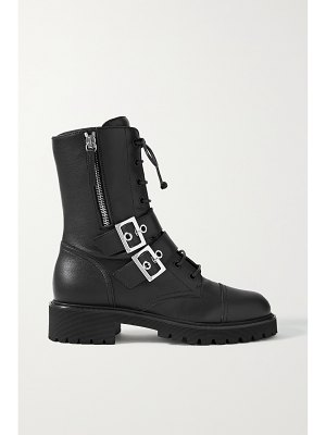 Giuseppe Zanotti buckled leather ankle boots