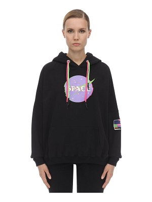 GIVE ME SPACE Interference cotton sweatshirt hoodie