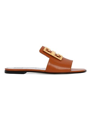 Givenchy 10mm 4g leather flat sandals