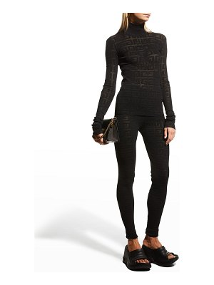 Givenchy 16GG Monogram Lace Sweater