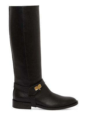 Givenchy 20mm eden leather tall boots