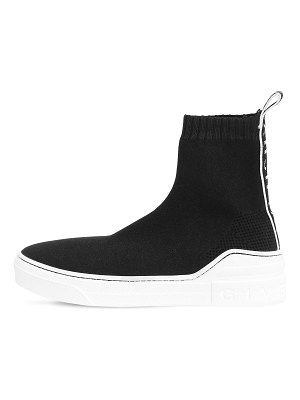 Givenchy 20mm geroge v knit high top sneakers
