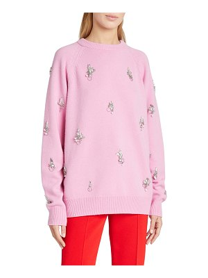 Givenchy 7GG Pixel Embroidered Sweater