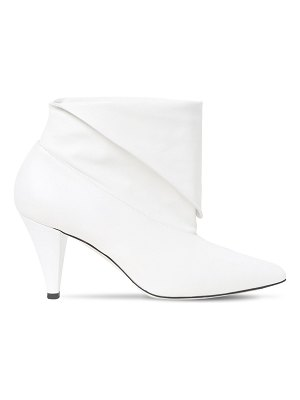 Givenchy 80mm leather ankle boots
