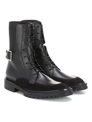 Givenchy aviator leather ankle boots