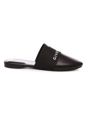 Givenchy bedford 4g flat leather mules