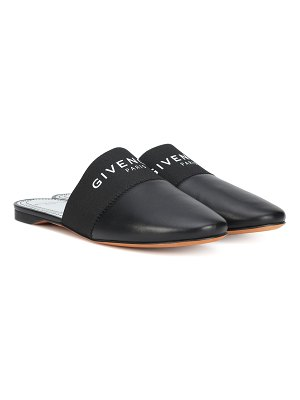 Givenchy Bedford leather slippers
