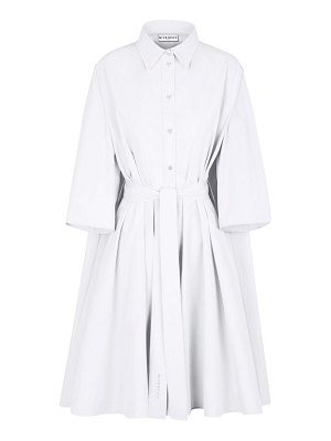 Givenchy belted cotton shirtdress