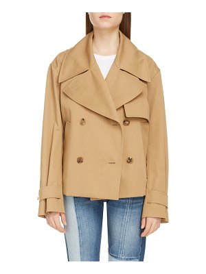Givenchy belted crop trench